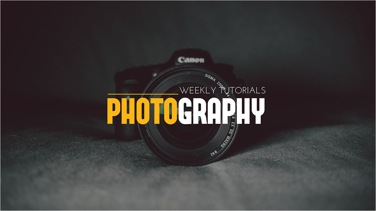 Photography You Banner Template Channel Art Photo Photographic Equipments Camera Click Picture Dslr Lens