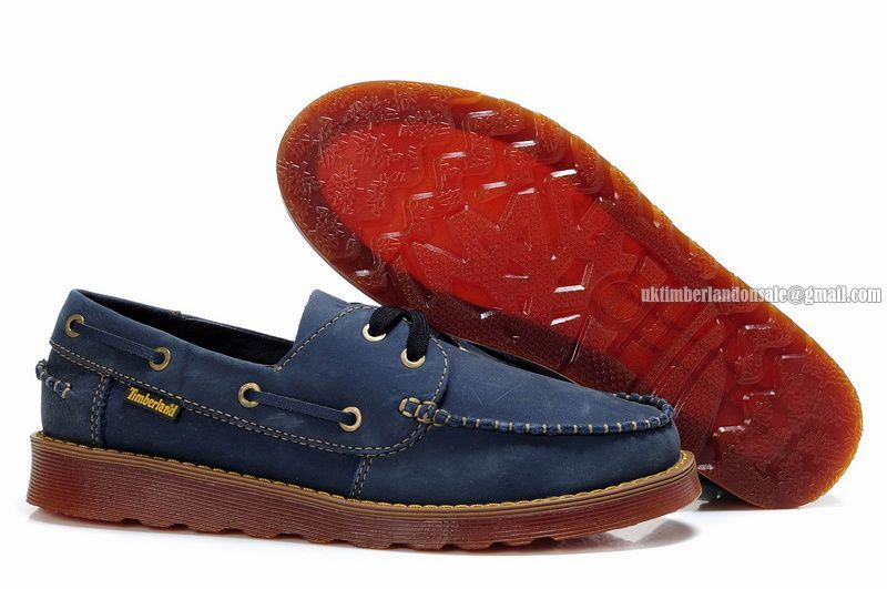 the best attitude d8505 00447 New Timberland Men s Icon 2-Eye Rubber-Sole Boat Shoe Navy-Blue   75.00