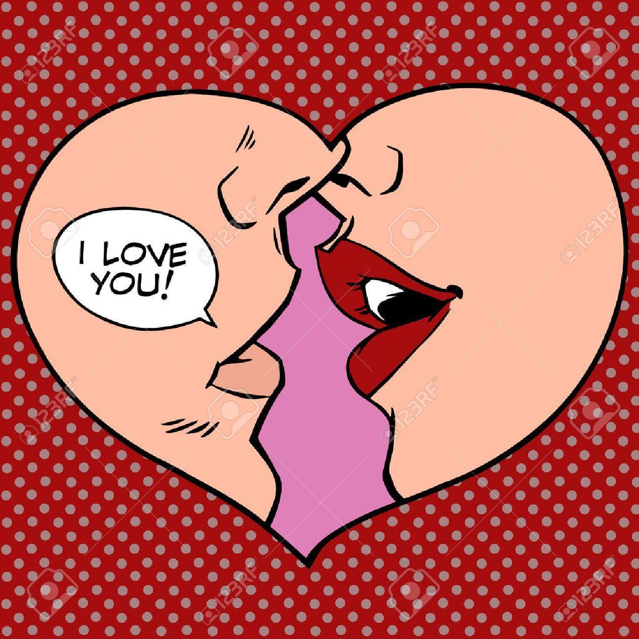 Stock Vector Retropop Heart Kiss I Love You Pop Art Retro Style Man And Woman Romantic Wedding Or Valentines Da Pop Art Drawing Pop Art Tattoos Pop Art Comic