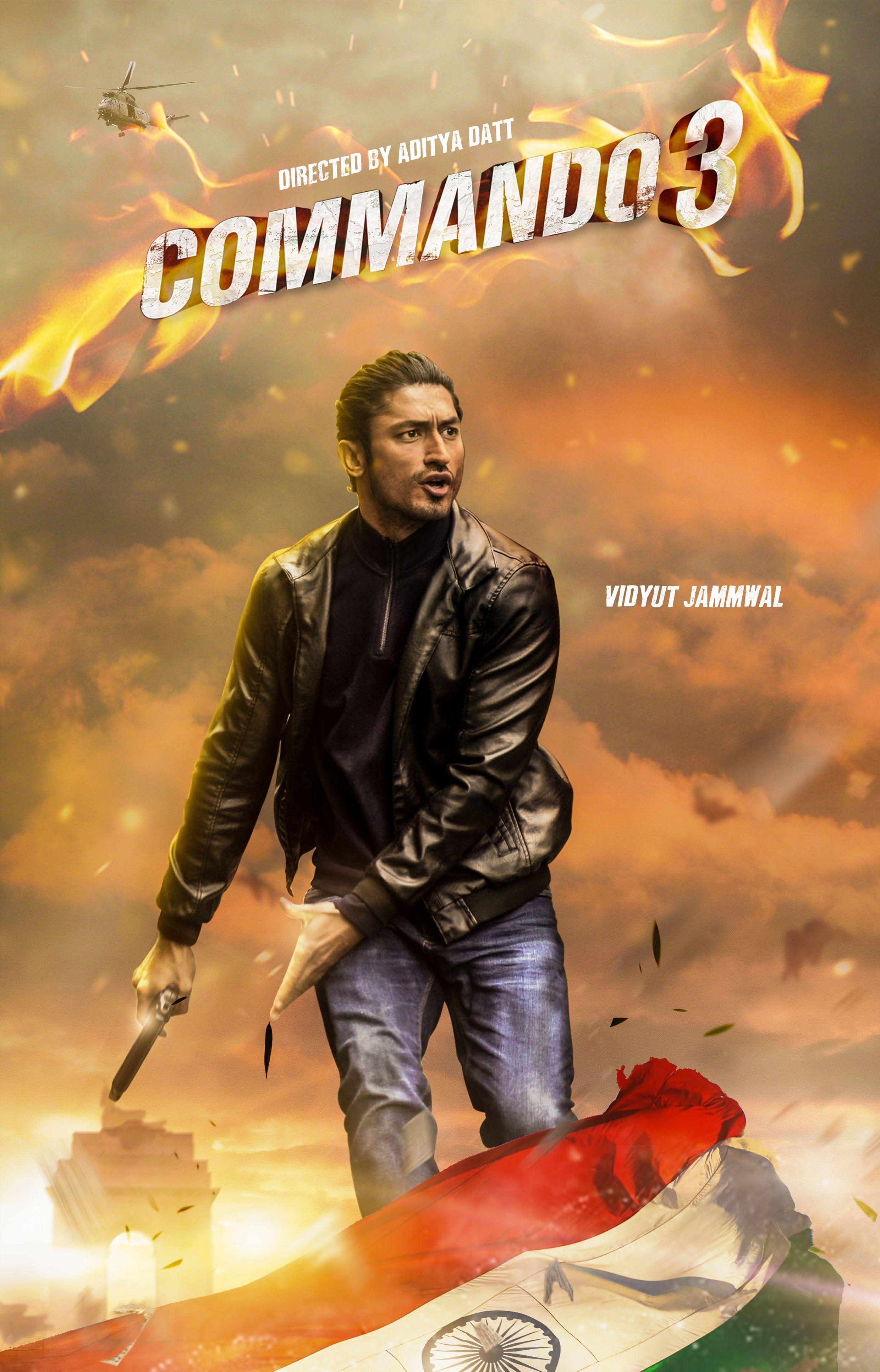 Commando3 Movie Poster Movies Online Free Film Hindi Movies Online Free Full Movies