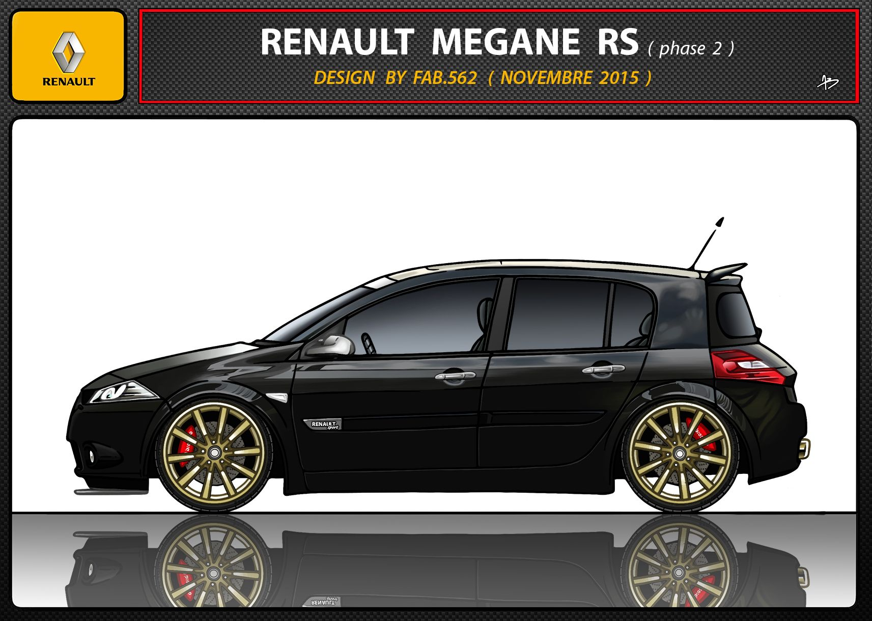 renault megane rs tuning modified cars gt sportive cars. Black Bedroom Furniture Sets. Home Design Ideas