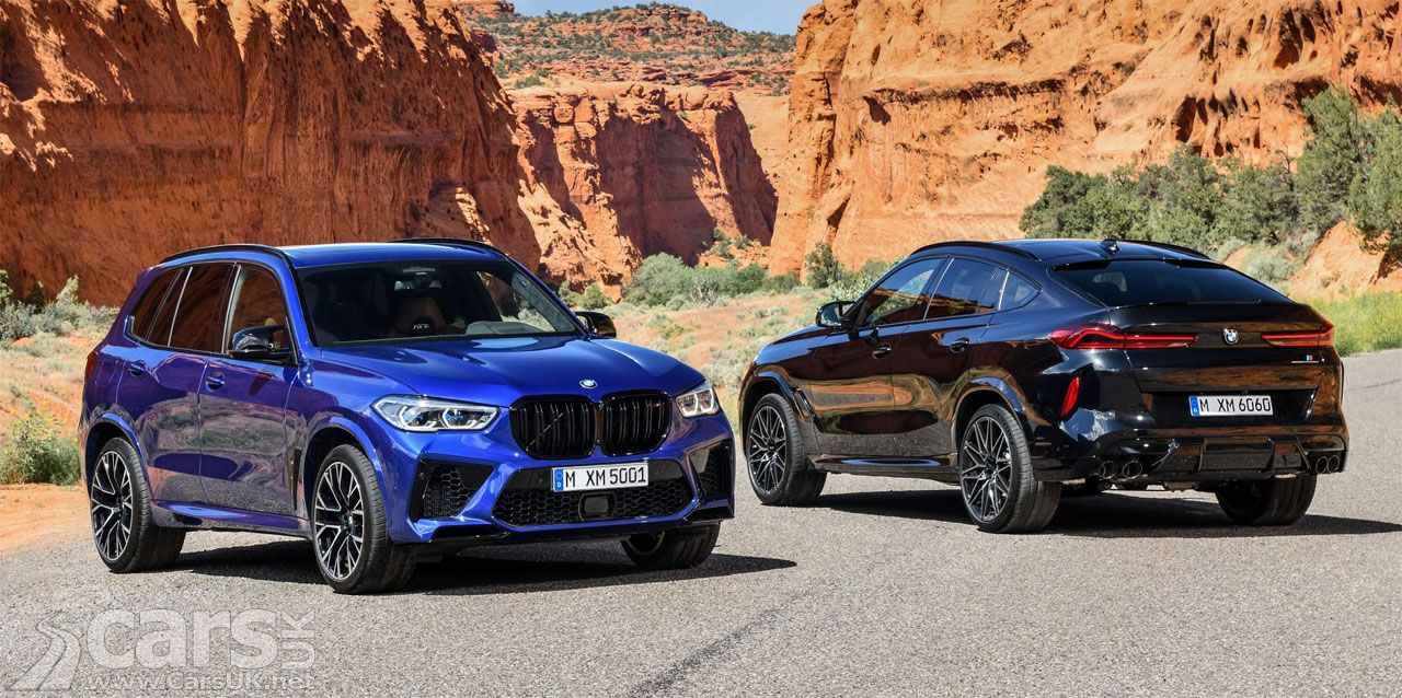 New Bmw X5 M And X6 M Competition Arrive With A Bonkers 620bhp Bmw Bmw X5 M Bmw Suv