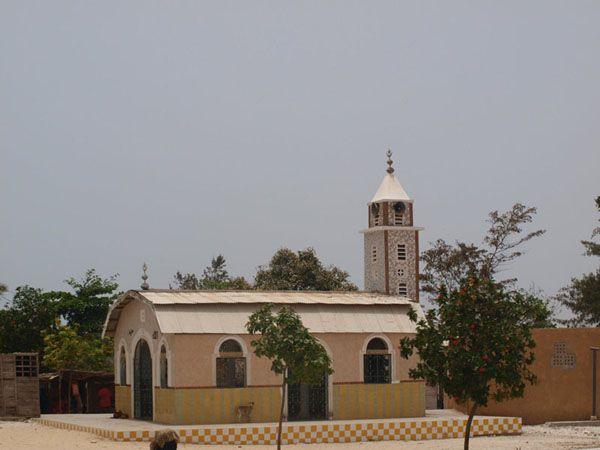 L'église de l'abbaye de Keur Moussa - Sénégal