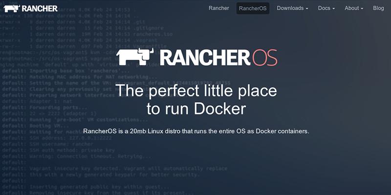 RancherOS 1 5 0 Release asiest way to run Docker in