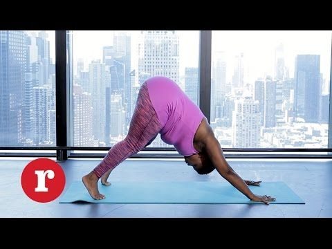 try these 8 yoga poses if you're too scared to go to yoga