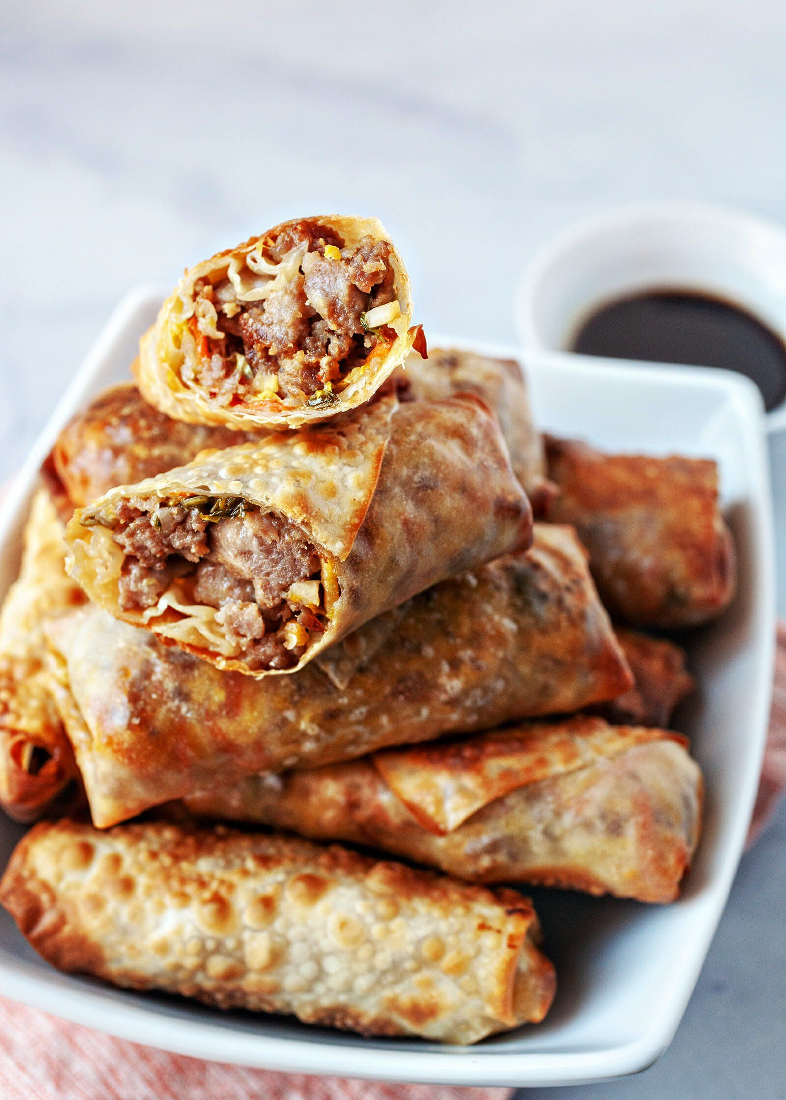 Air Fryer Chinese Egg Rolls Recipe in 2020 Egg roll