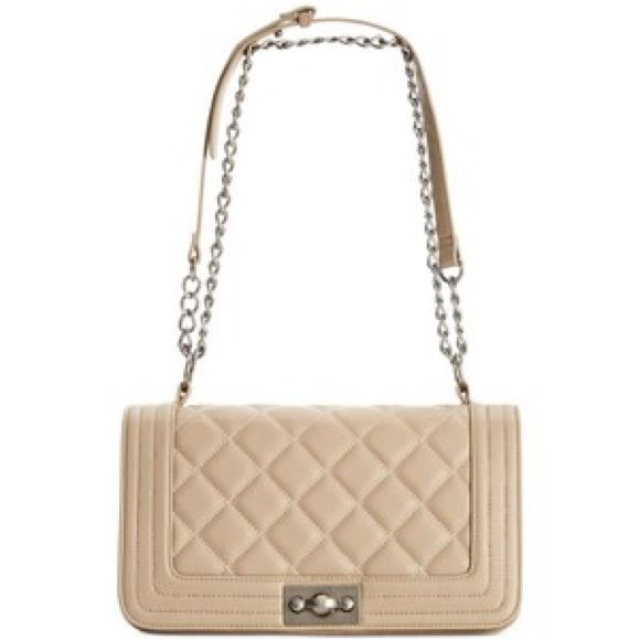c56b225ee34e35 Chanel Inspired Quilted Steve Madden Crossbody Bag   Products ...