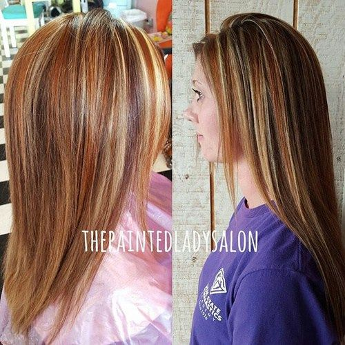 45 ideas for light brown hair with highlights and lowlights pmusecretfo Image collections
