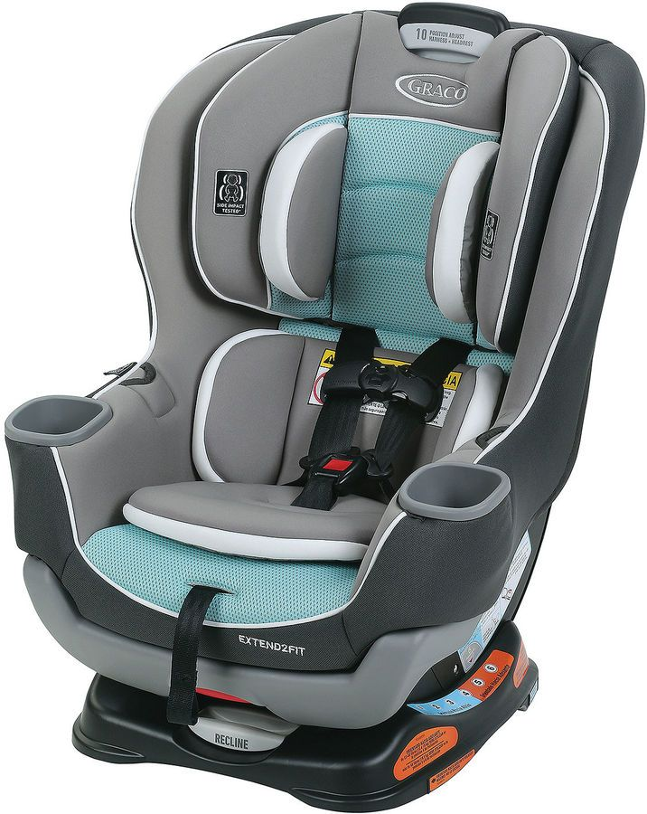 Graco Spire Extend2Fit Convertible Car Seat | New Mom Newborn Baby
