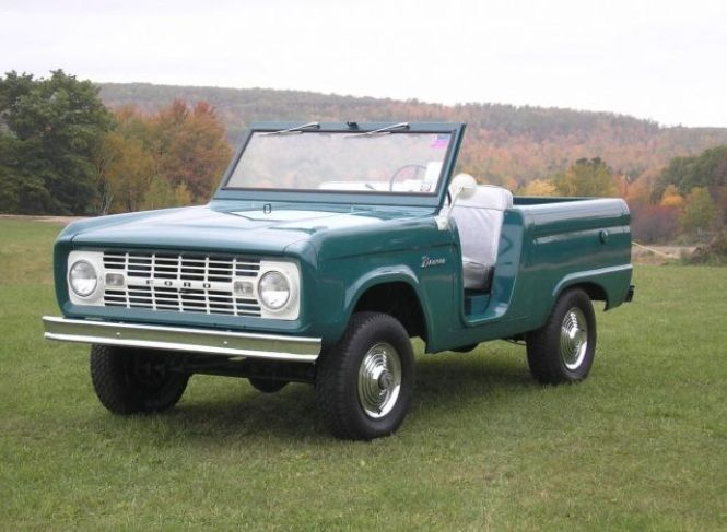 This Is A Rare Bronco It Came From The Factory With No Doors Or