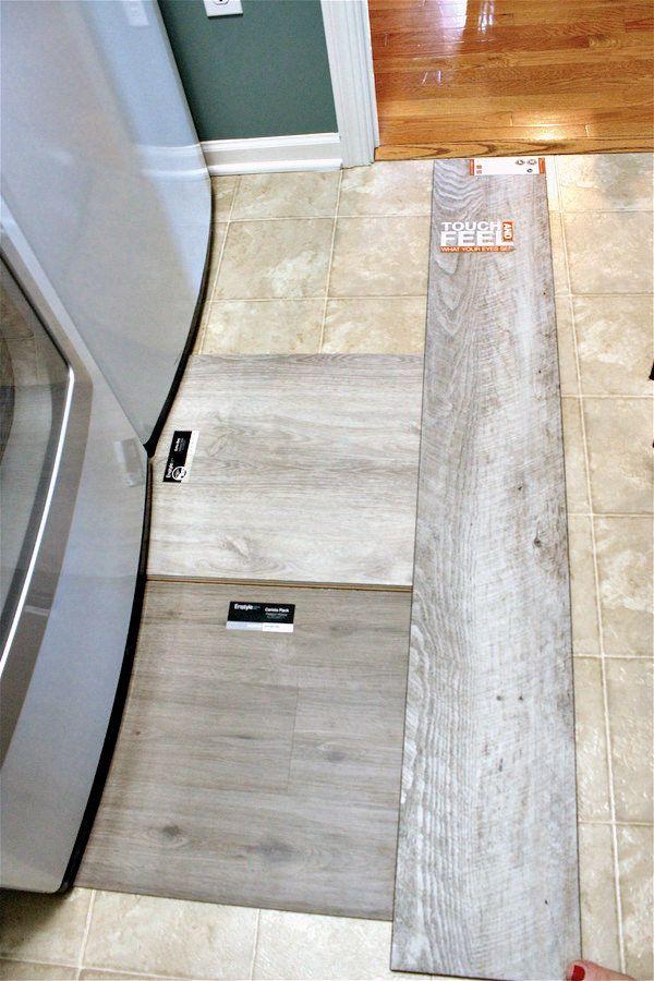 luxury vinyl tile is a great alternative to ceramic tile. it is