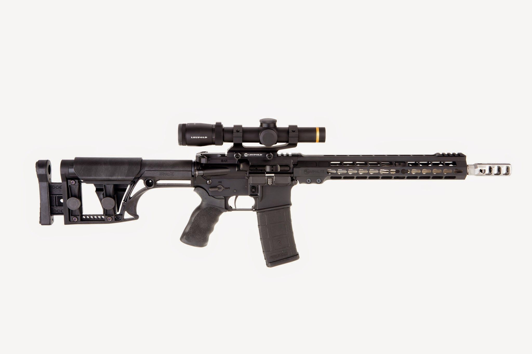 Featured in our March issue, on newsstands now, is the ArmaLite M-15 3-gun rifle. Designed for competition, the M-15 boasts a number of upgrades, enhancements and options you'd expect in a 3-gun rifle.