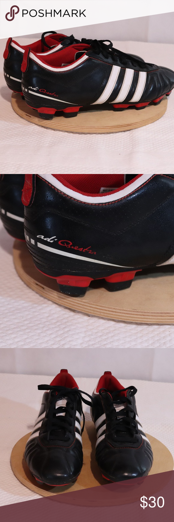14d066b4d Adidas AdiQuestra IV TRX Soccer Cleats Size 12 ADIDAS  ADIQUESTRA IV TRX  FG  MENS