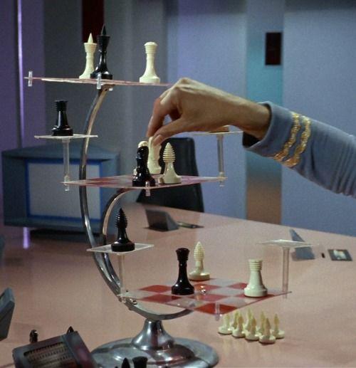 Star Trek  - 3 Dimensional Chess