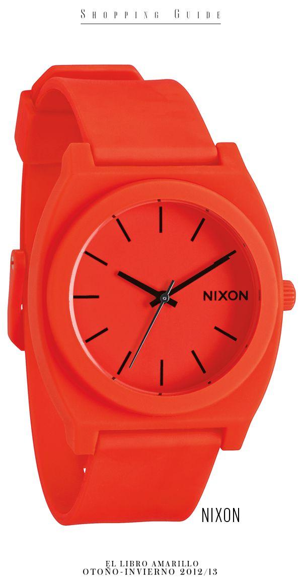 42a3f52e46d4 Mujer - Reloj - Nixon - El Palacio de Hierro - El Libro Amarillo Otoño  Invierno 12 13
