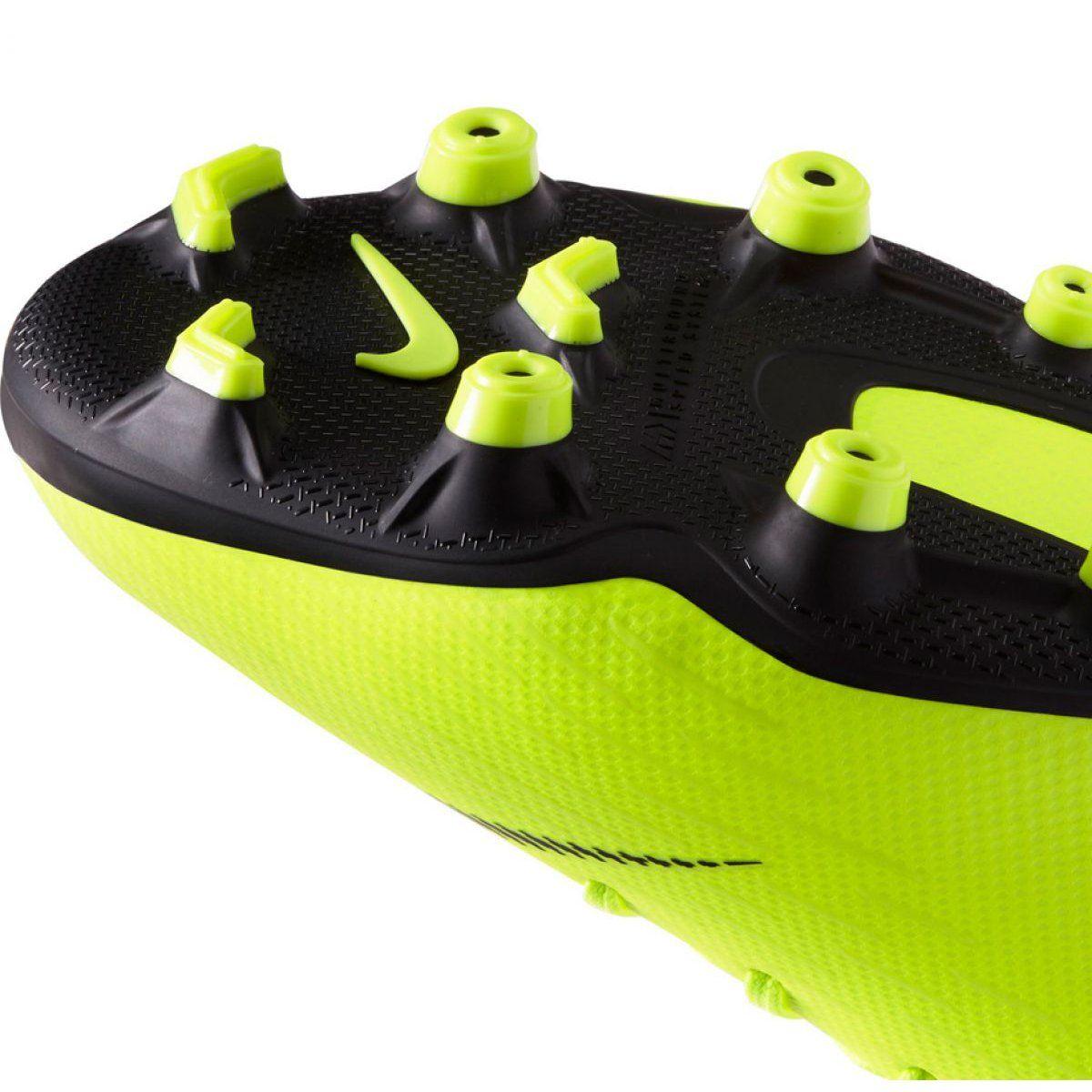 Buty Pilkarskie Nike Mercurial Vapor 12 Academy Mg Jr Ah7347 701 Zolte Wielokolorowe Football Shoes Nike Vapor