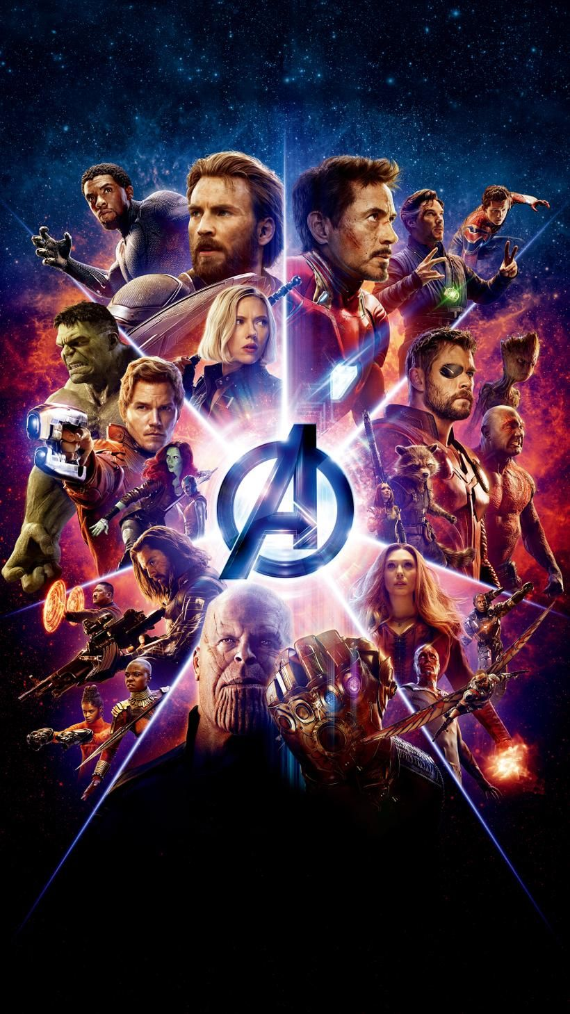 Avengers Infinity War 2018 Phone Wallpaper Marvel