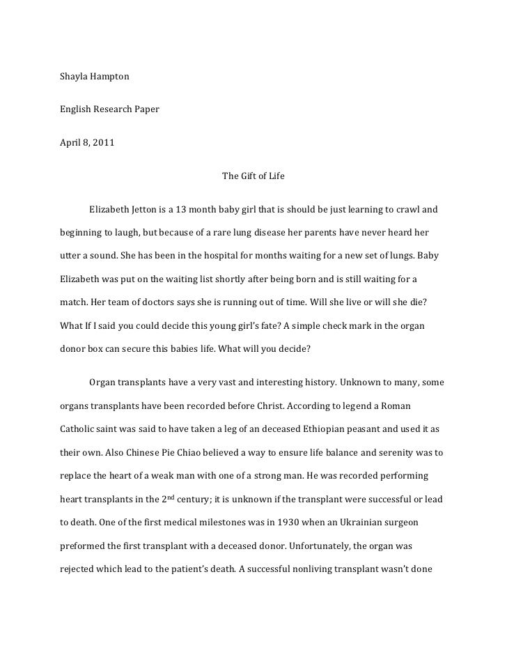 stem cell research persuasive essay