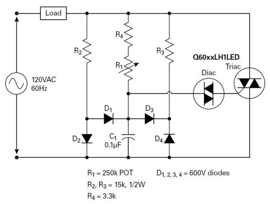figure 2  dimmer circuit designed for better hysteresis