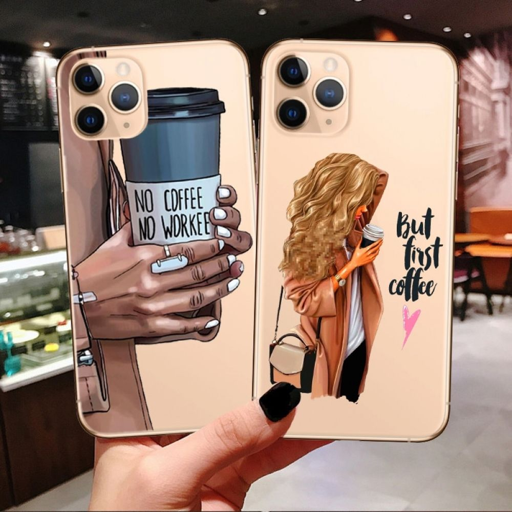 Princess Female boss coffee Phone Case For iPhone in 2020