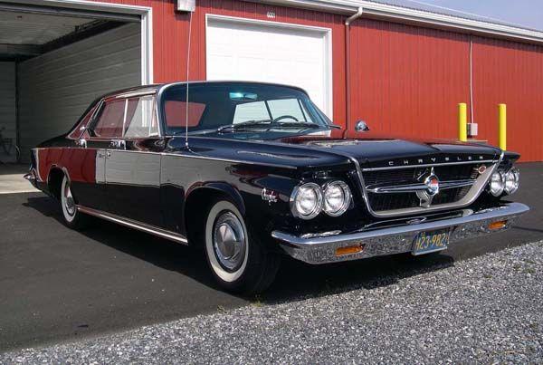 Vehicle · 1963 Chrysler 300 Sport Series 4 Door ...