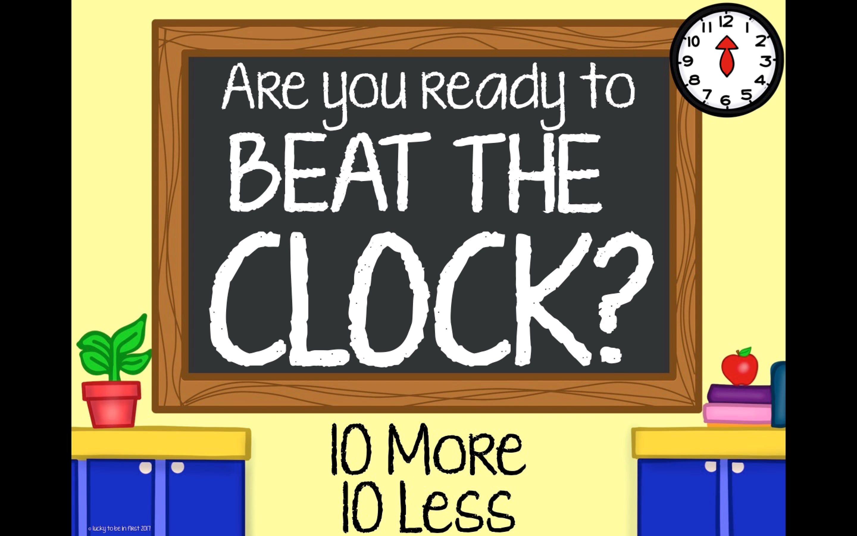 Beat The Clock With Images