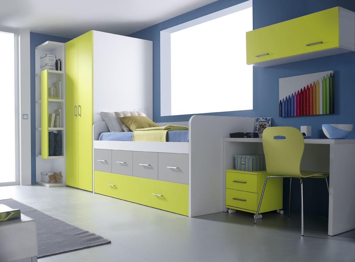Muebles Orts Sonrie Idees 2 Dormitorio Juvenil 42 Kids Pinterest # Quartos Muebles