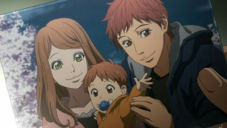 Naho and suwa orange anime orange anime anime family