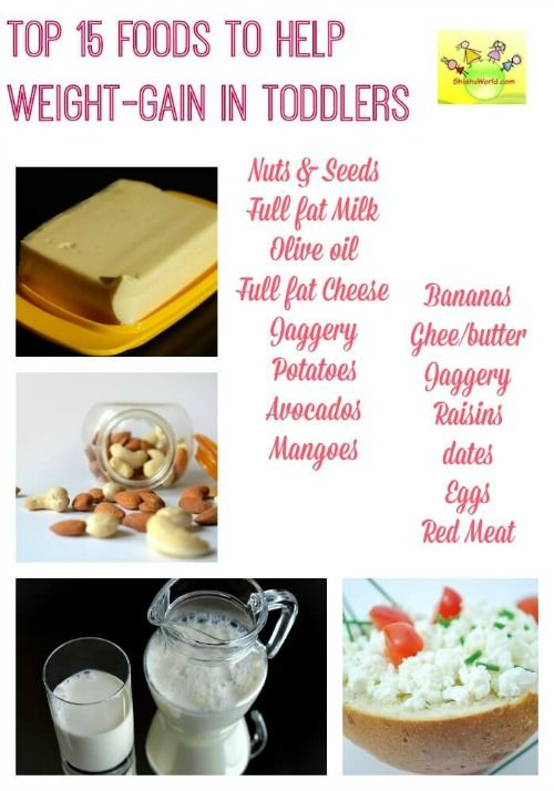 Diet for your underweight toddler feeding baby pinterest diet for underweight toddler common healthy weight gaining foods for babies toddlers and kids weight gain in kids forumfinder Images
