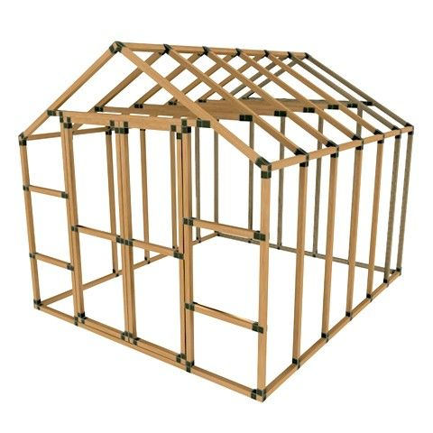 10X12 EZ Frame Basic Storage Shed Kit Projects to Try Pinterest