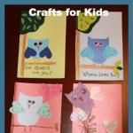 Crafts for Kids: DIY Owl Greeting Cards #grandparentsdaycraftsforpreschoolers Crafts for Kids: DIY Owl Greeting Cards #grandparentsdaycraftsforpreschoolers