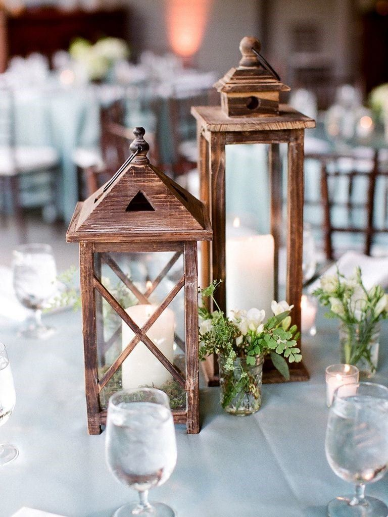 19 Best Rustic Lantern Centerpieces For Bridal Shower 2019 ...