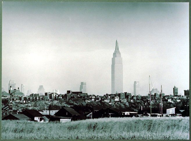 1941 - View of New York City from New Jersey