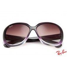 Ray Ban Rb4098 Jackie Ohh Ii Sunglasses With Purple Frame And Brown Lenses Sunglasses Purple Sunglasses Sunglasses Sale