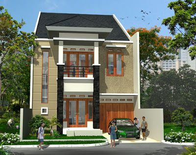 desain rumah minimalis 2 lantai #rumahminimalis #