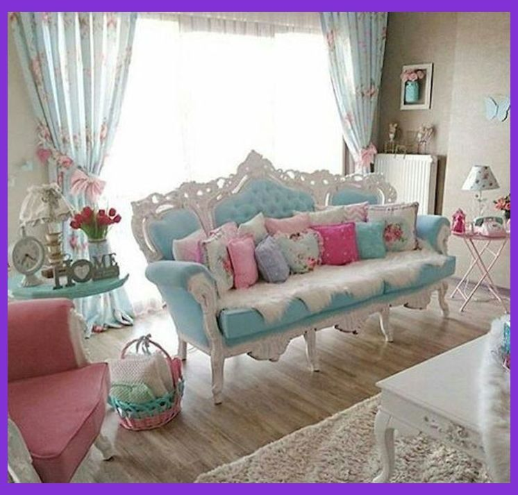 10 Amazing Shabby Chic Living Room Decorations