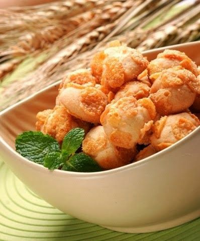 Resep Corn Flakes Cookies Resep Aneka Kue Kering