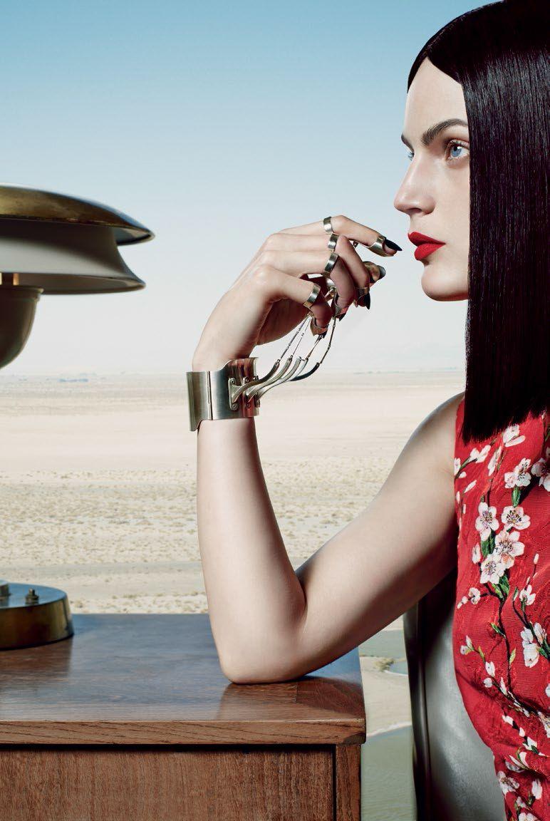 Publication: Vogue Italia February 2014 Model:Guinevere van Seenus Photographer:Emma Summerton Fashion Editor:Patti Wilson Hair:Neil Moo...