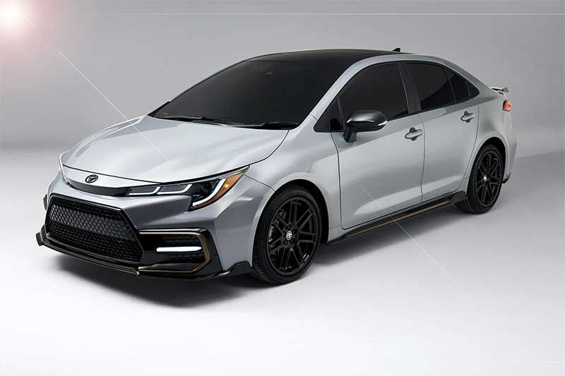 Toyota Corolla 2021 Is Now More Sportier With Apex Edition Toyota Corolla Toyota Black Wheels