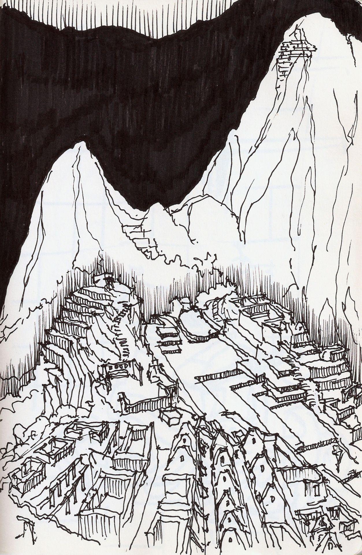 Ruina De La Antigua Civilizacion De Machu Picchu Vector De Stock