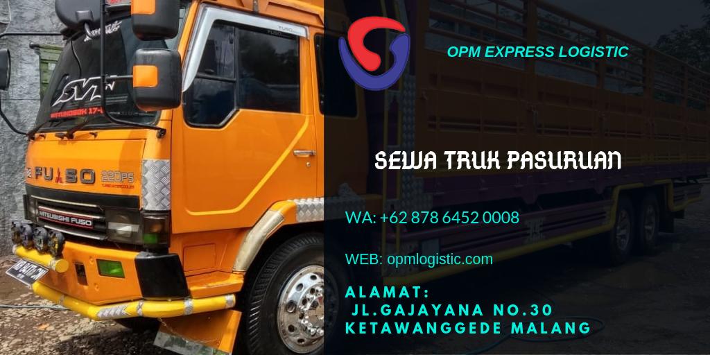 Sewa Truk Pasuruan 62 878 6452 0008 Opm Express Logistic Tujuan
