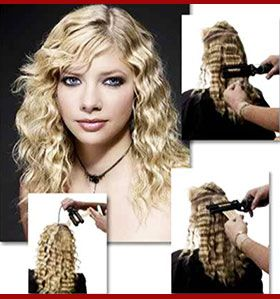 How To Use A Triple Barrel Waver Step By Step Beginners Guide Curling Iron Hairstyles Triple Barrel Curls Hair Styles
