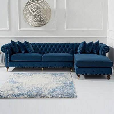 L Shaped Couch Design Ideas Home Decoration Trends In 2020 Corner Sofa Living Room Living Room Decor Blue Sofa Blue Living Room Decor