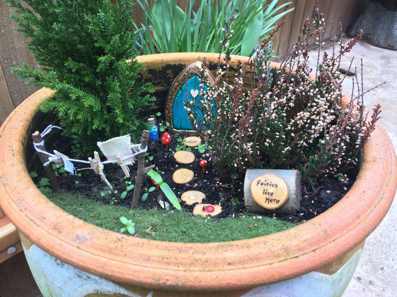 Fairy Garden Fairy Door Diy Garden Kit Elf Pixie Gardens A