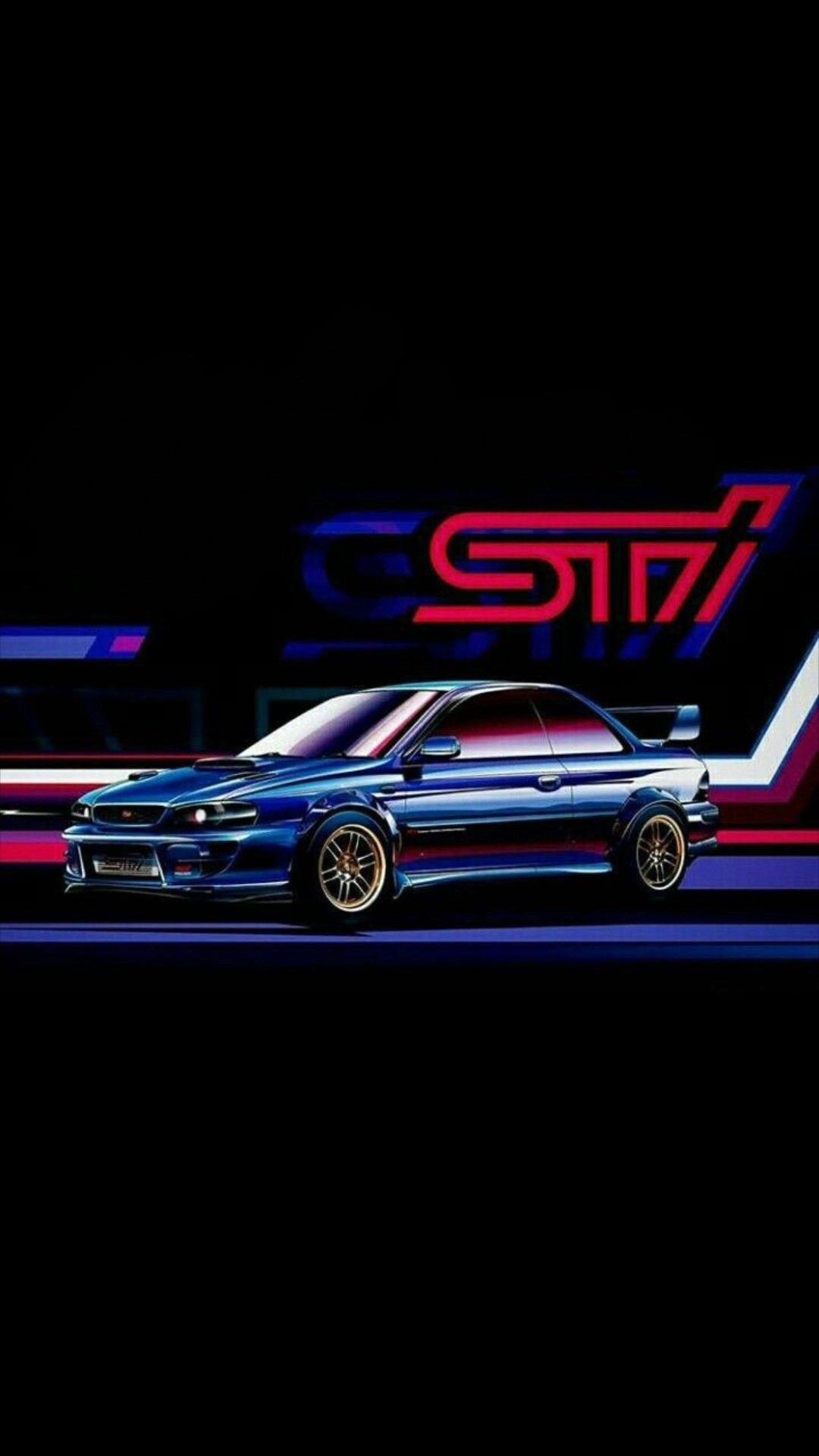 Pin by Aris Wibowo on Car vectors | Subaru impreza sti ...