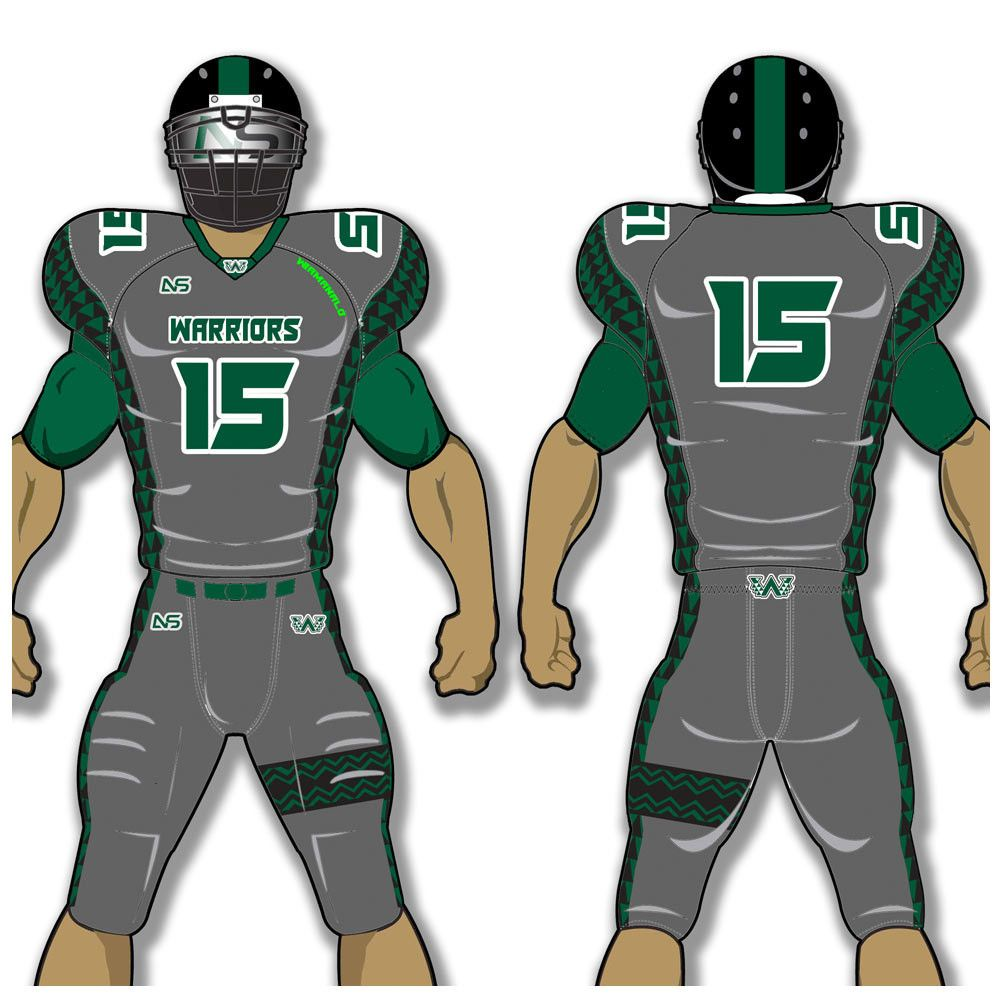 create your own football jersey game