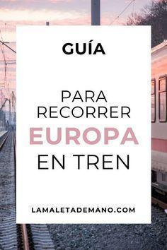 Europa: ¿Tren o Avión?