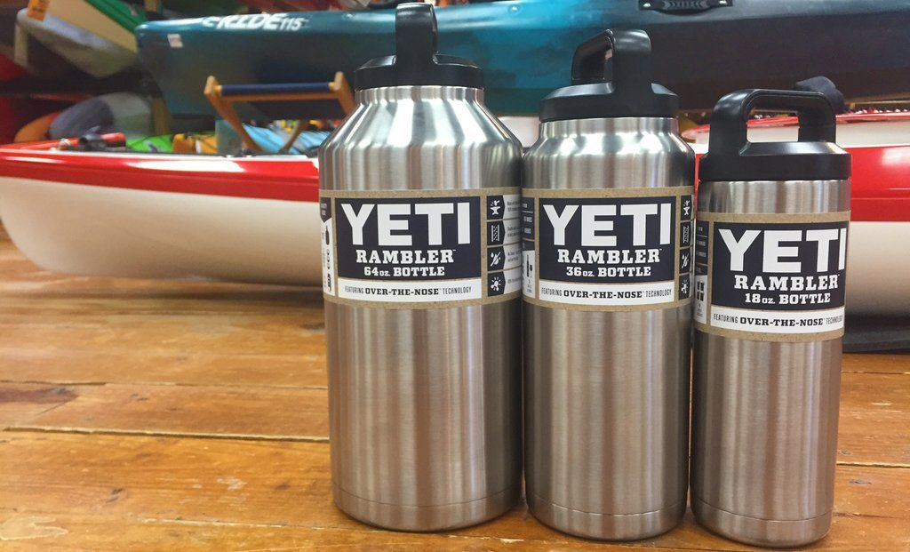 Yeti Rambler Bottle In The Shop Available In 18 36 64oz Sizes
