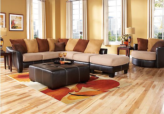 Living Room Sets With Hdtv shop for a suttons bay beige 7 pc sectional living room plus hdtv