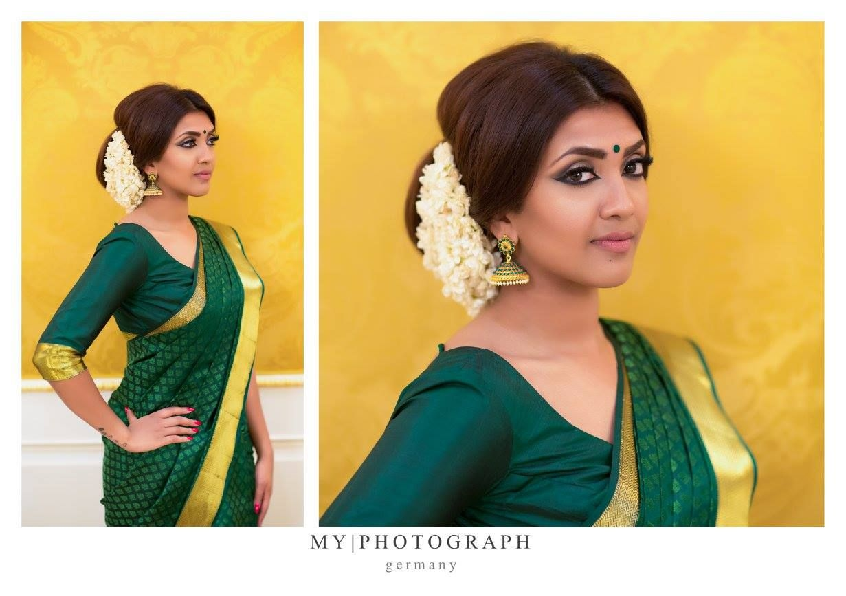 Home Vithya Hair Makeup South Indian Bride Hairstyle South Indian Bride Indian Hairstyles